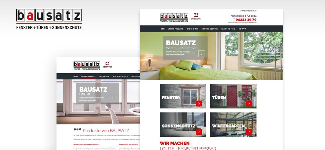 BAUSATZ Fenster & Türensysteme GmbH.