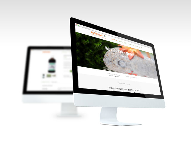 Webshop Sagrusan Tinkturen - Webdesign Media3000